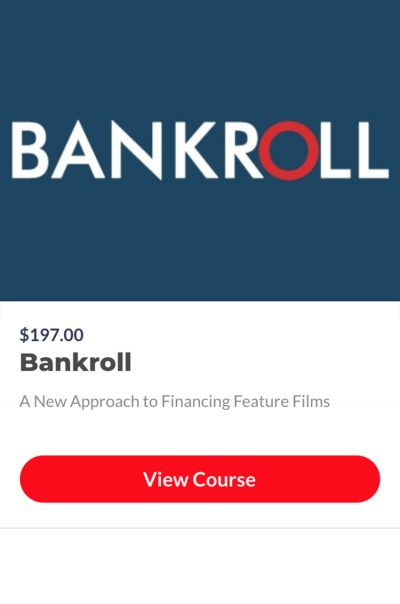 Bankroll Your Movie